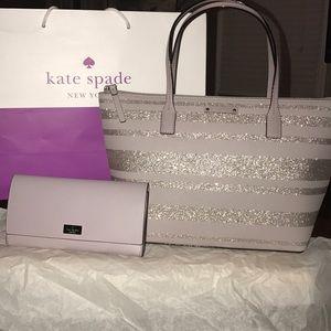 Kate Spade pocketbook and wallet